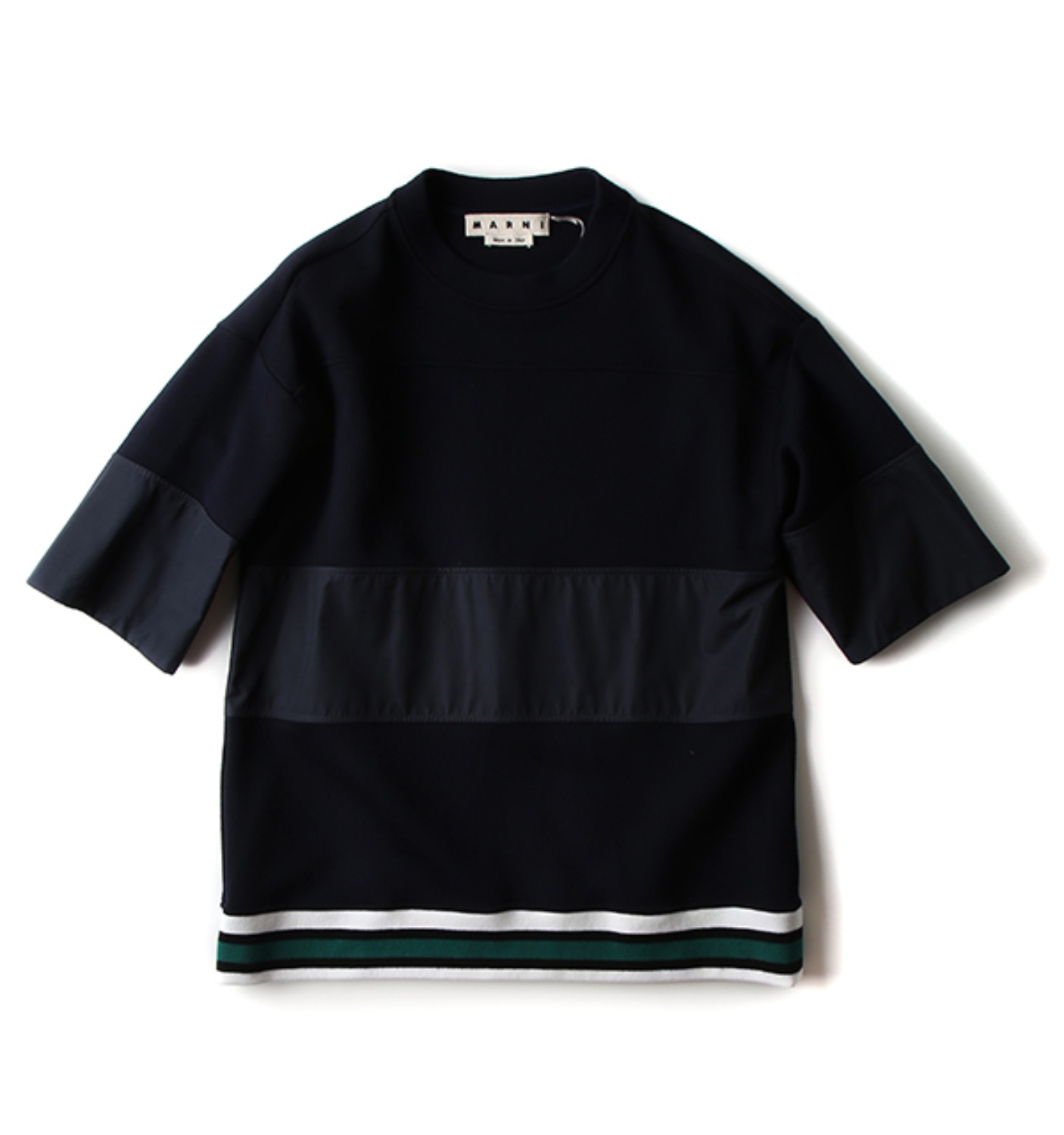 M/S SWEAT SHIRT NAVY(FUMUZGU037)