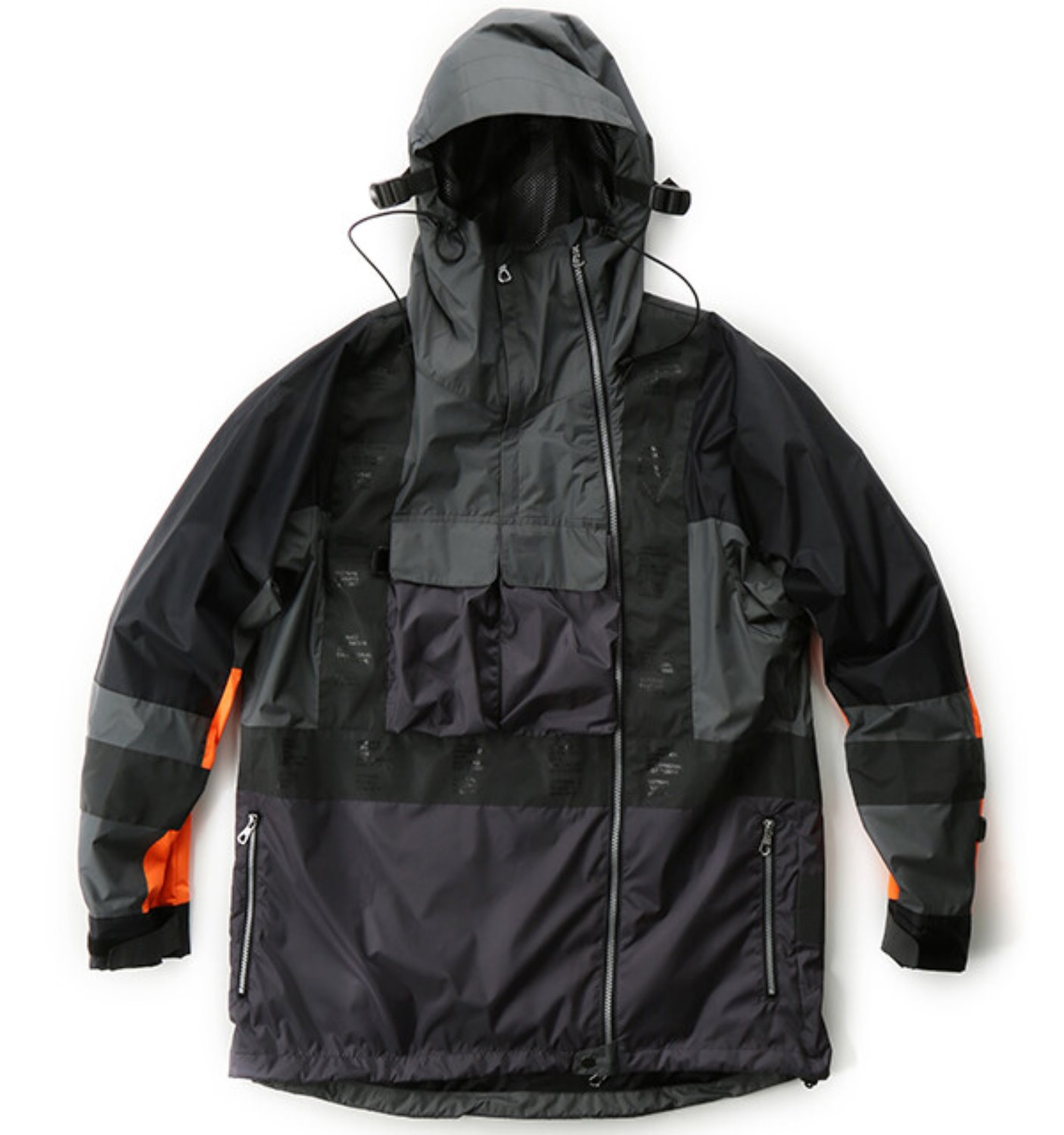3M TAPED WATER PROOF JACKET CHARCOAL