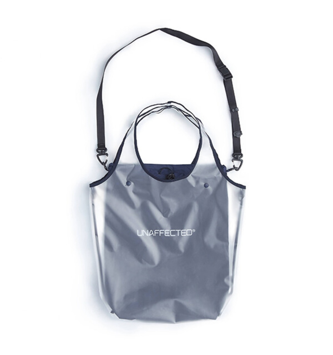UTILITY 2WAY BAG WHITE/NAVY