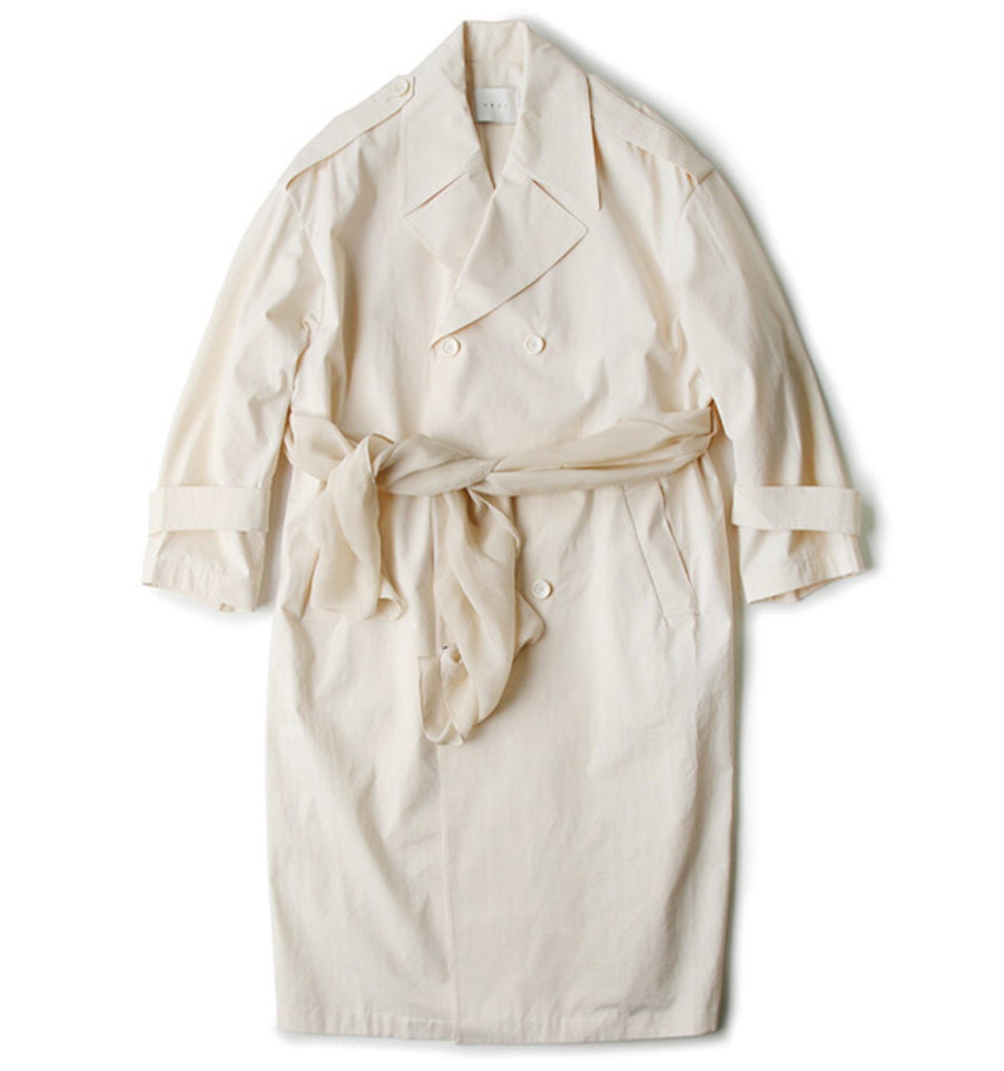 DADDY TRENCH COAT VANILLA (NC005001A)