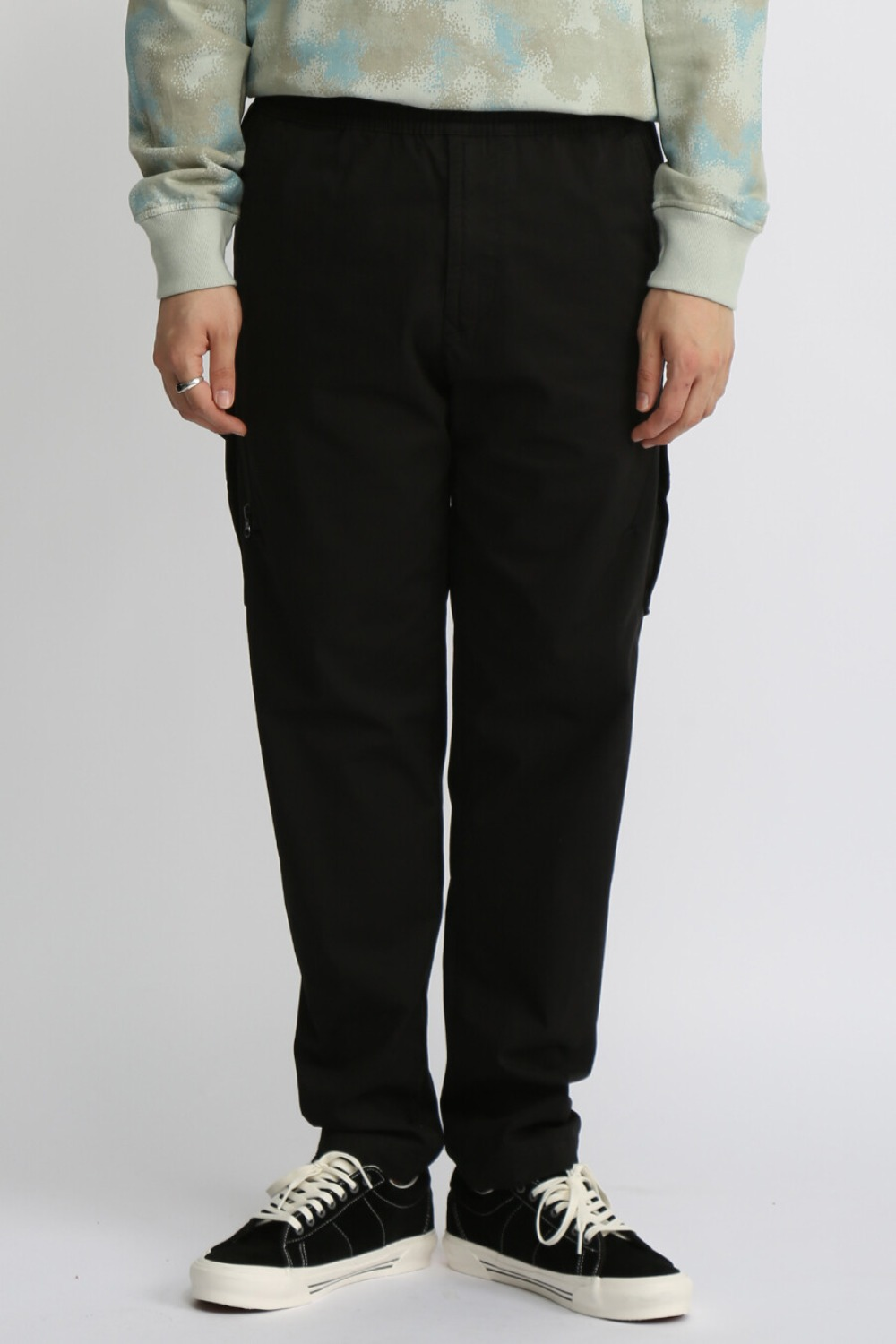 GHOST PIECE CARGO PANTS(310F2) BLACK
