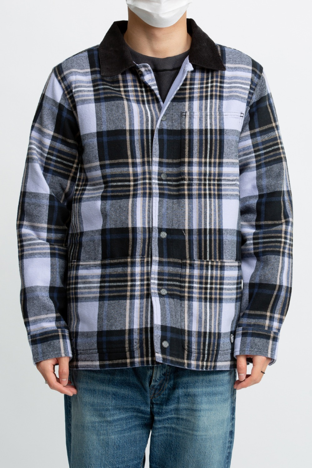 VANS X AP PLAID REVERSE CHORE COAT
