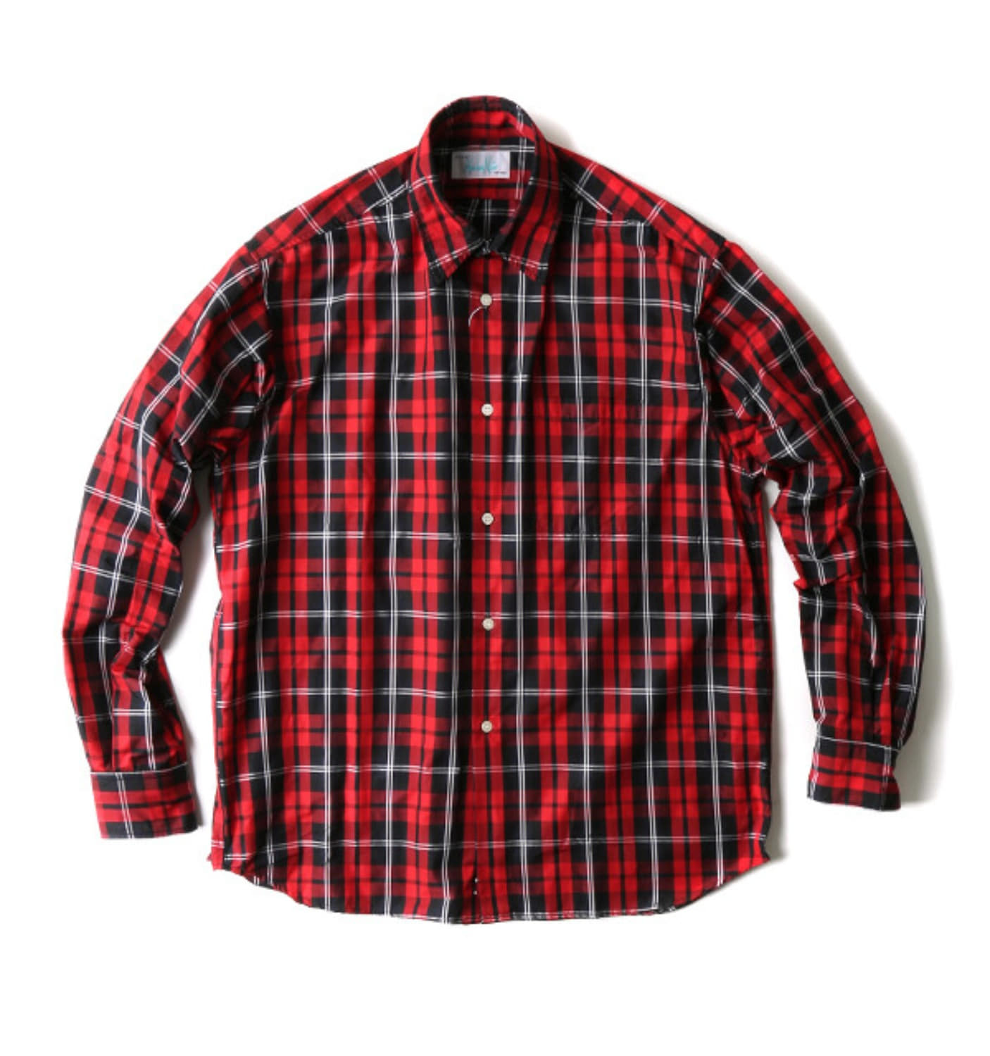 HN CHECK SHIRT RED