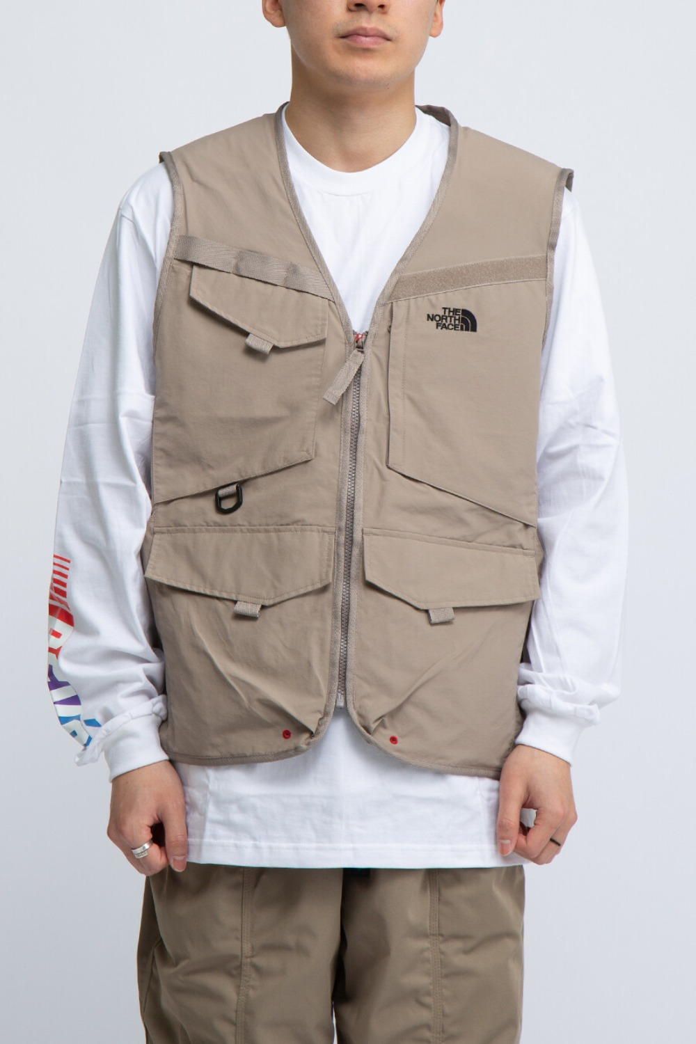 FISHING VEST BEIGE