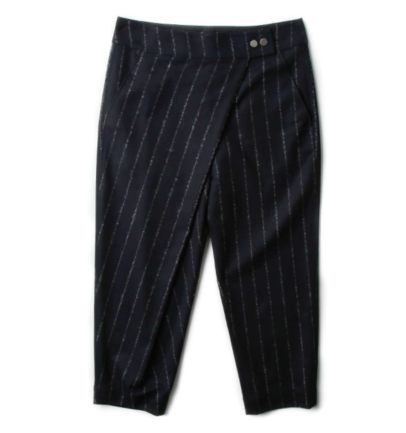 PRUSSO STRIPED TROUSERS BLUE