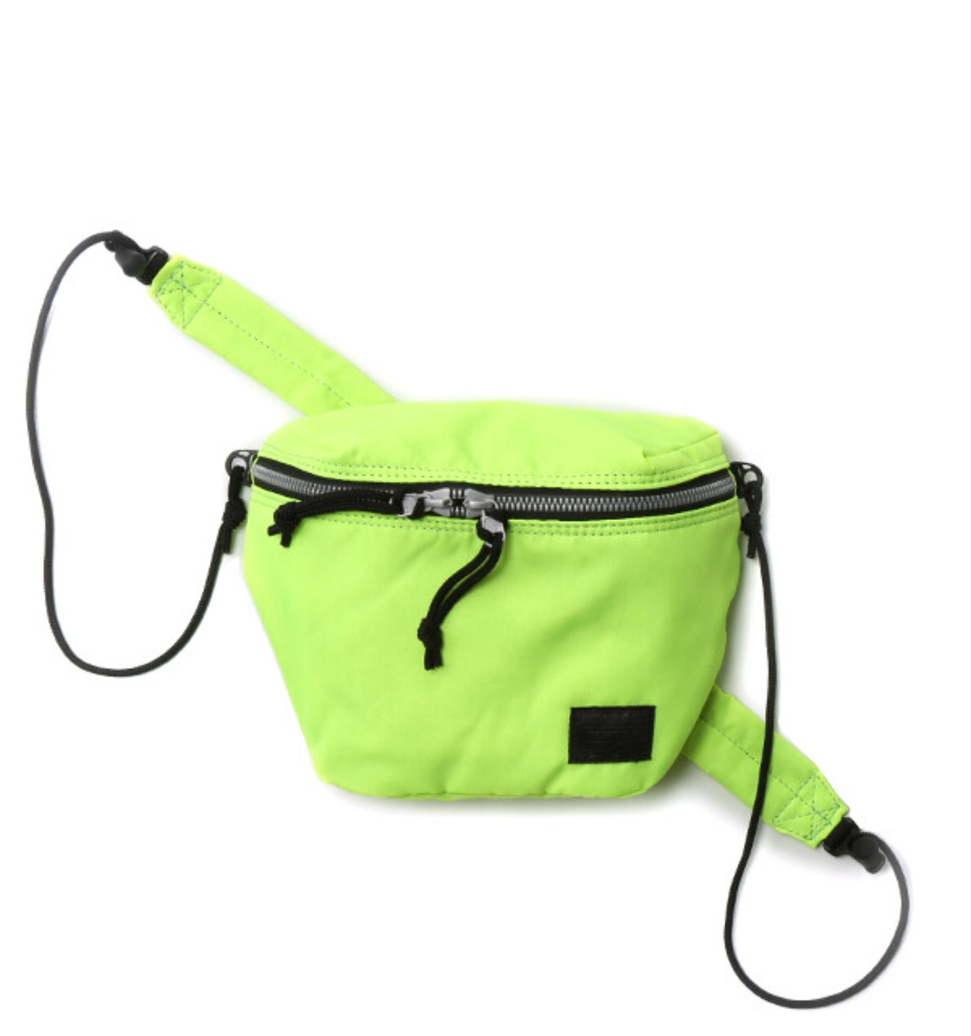 BAL/PORTER® FLGHT NYLON SACOCH NEON YELLOW