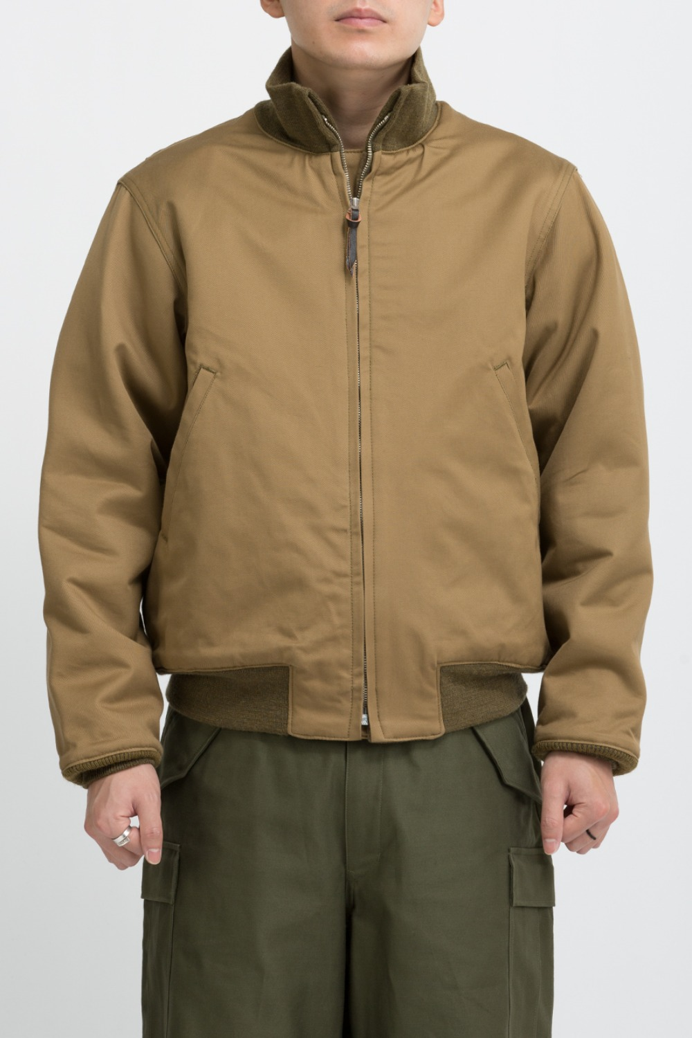 (RESTOCK)JACKET, COMBAT, WINTER REAL MCCOY MFG.CO. KHAKI