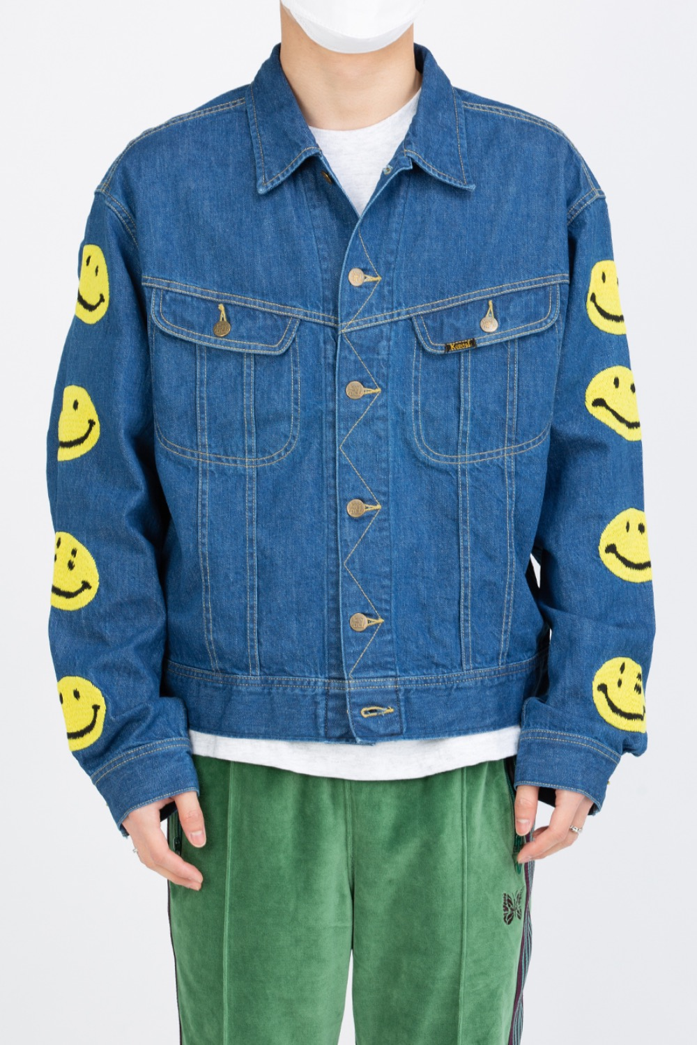 11.5oz DENIM WESTERNER(SMILE EMBROIDERY)