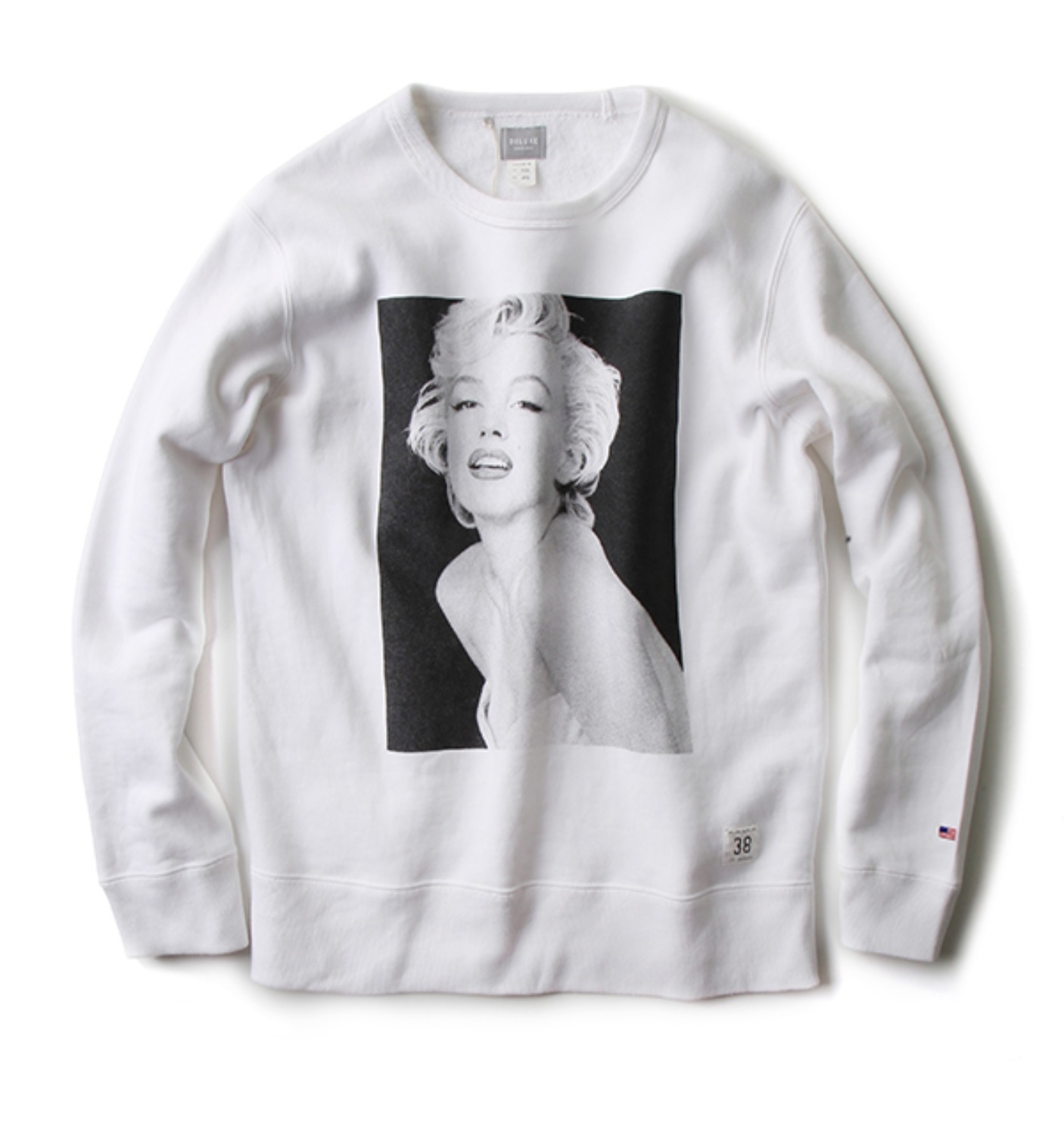 NORMA JEANE SWEAT WHITE