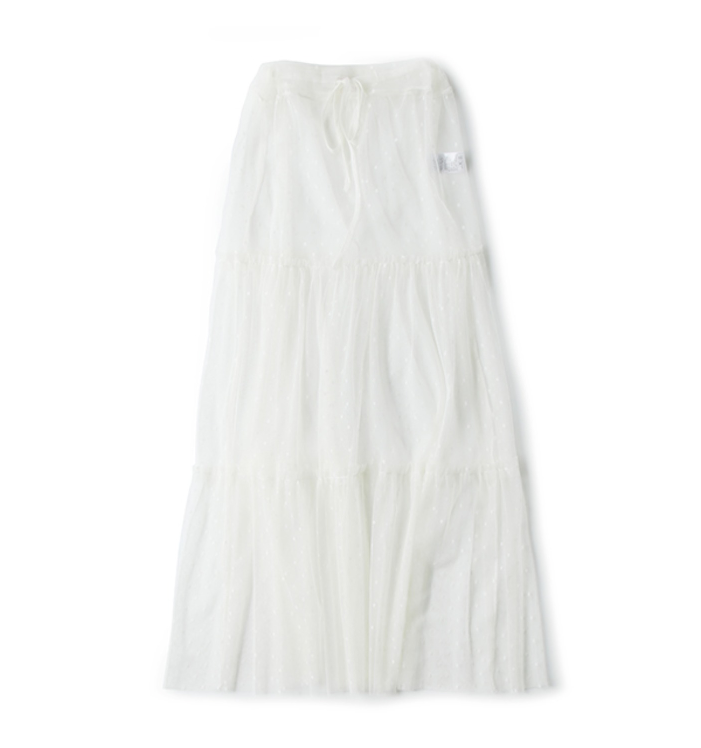 BRILLER LACE SKIRT OFFWHITE