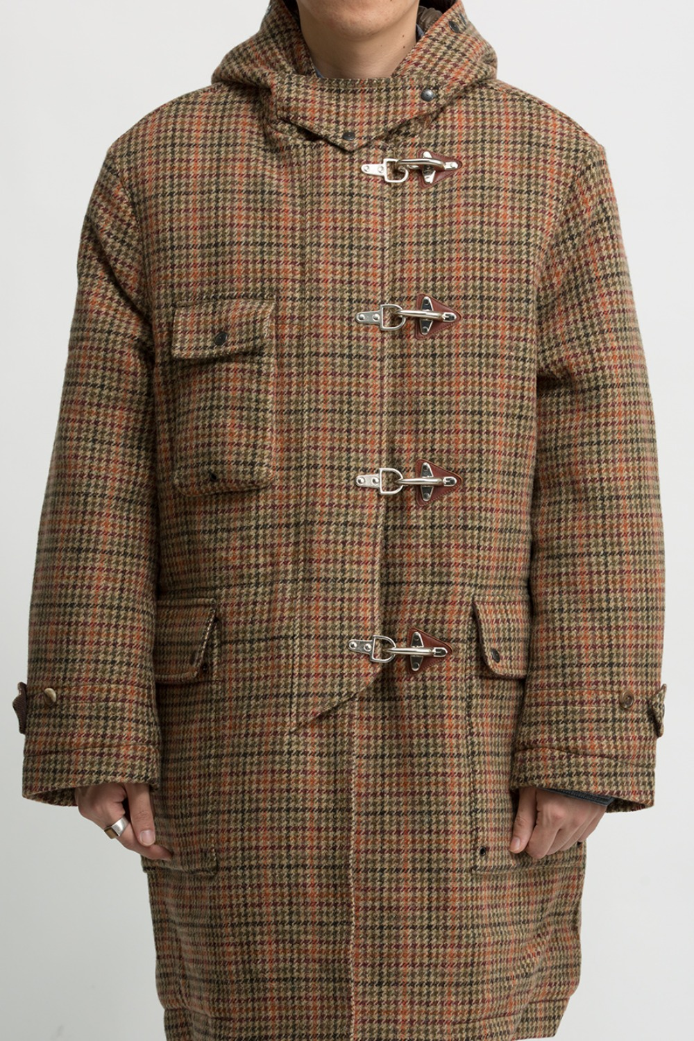 MULTI GUNCLUB CHECK FIREMAN COAT