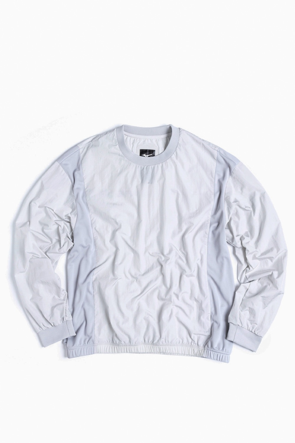 (MIZUNO) DW SWEAT SHIRT LIGHT GREY