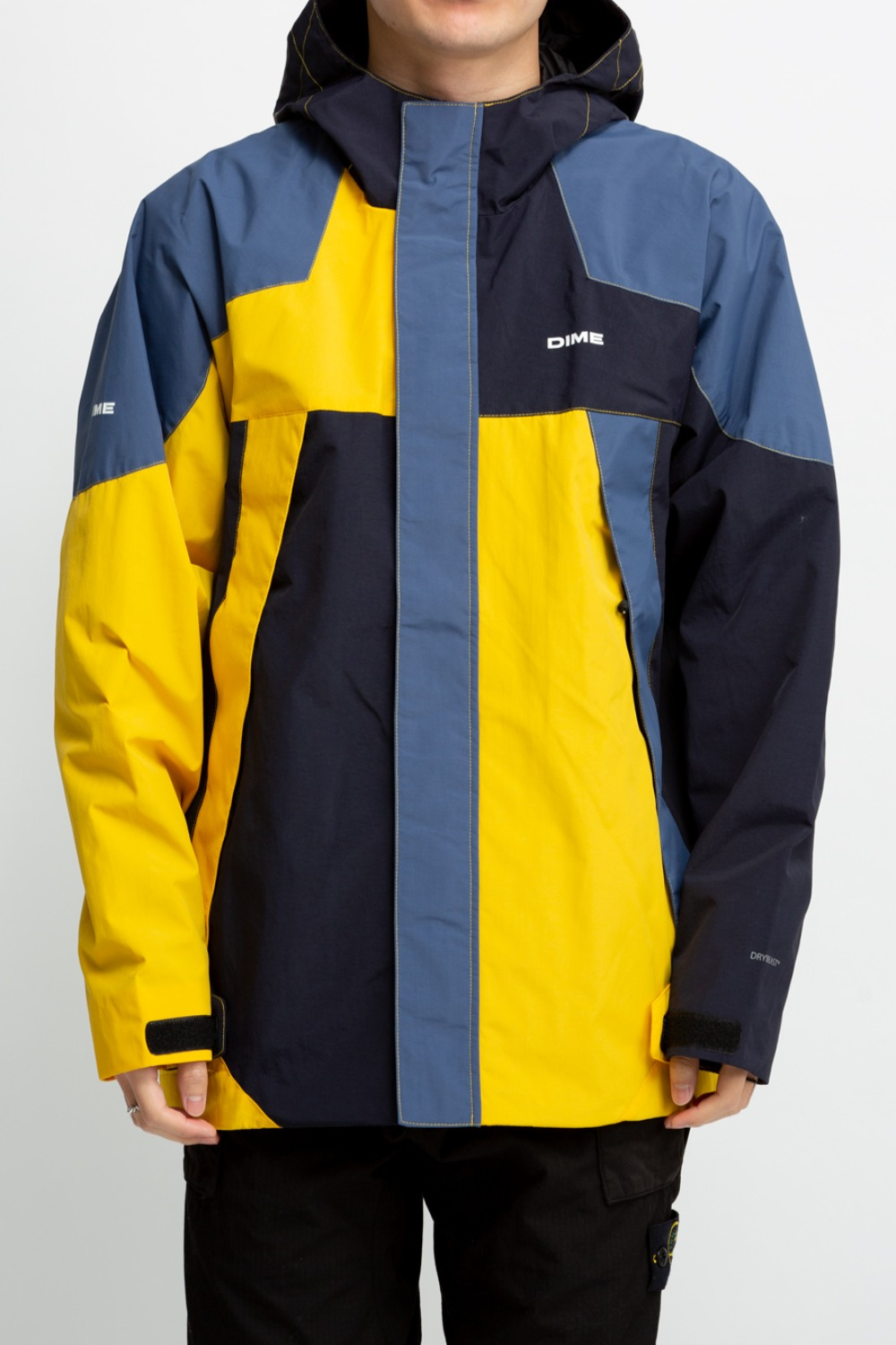 PANEL PARKA YELLOW