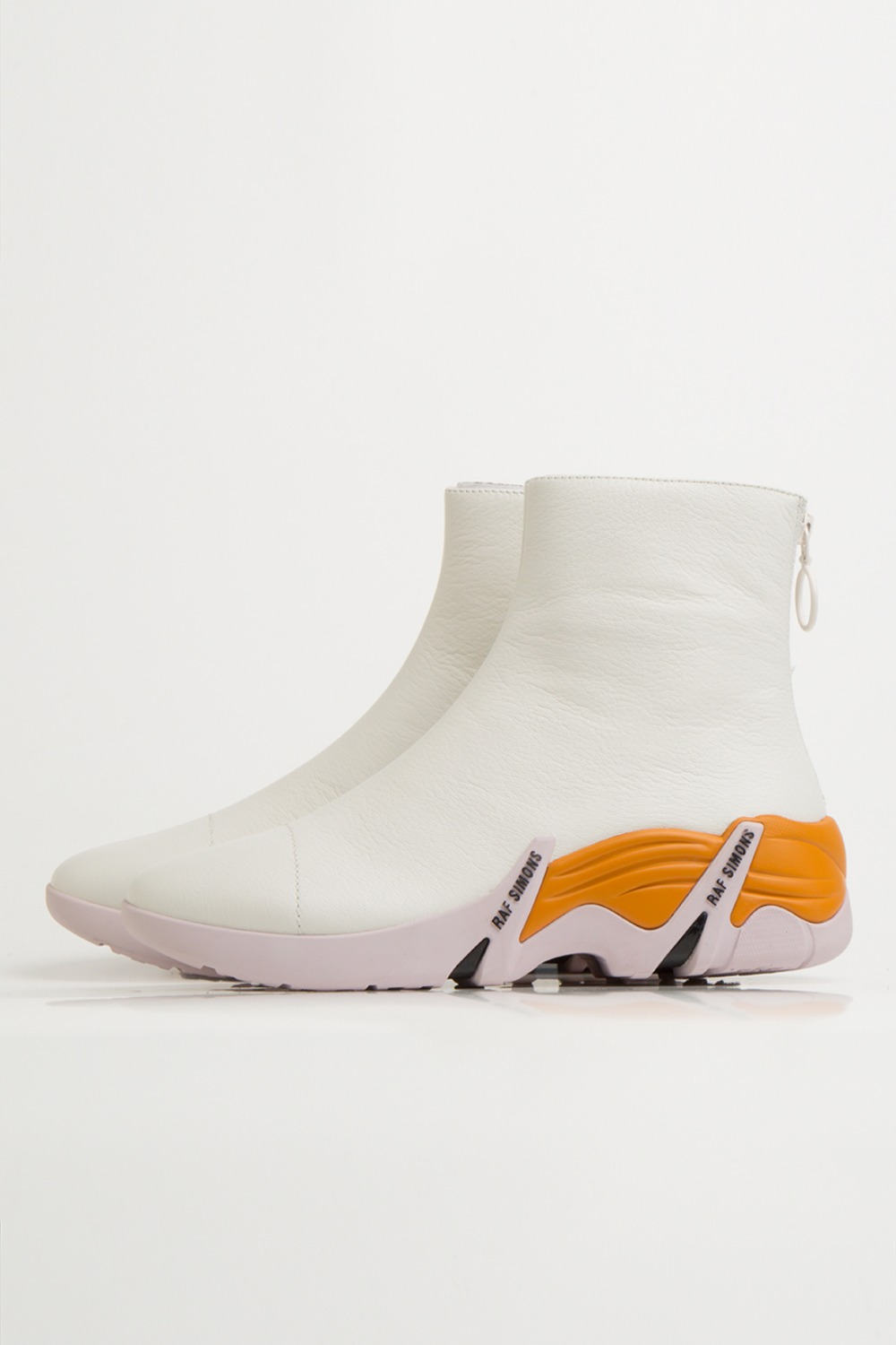 CYLON 202-986 LEATHER WHITE/DARK ORANGE/PINK
