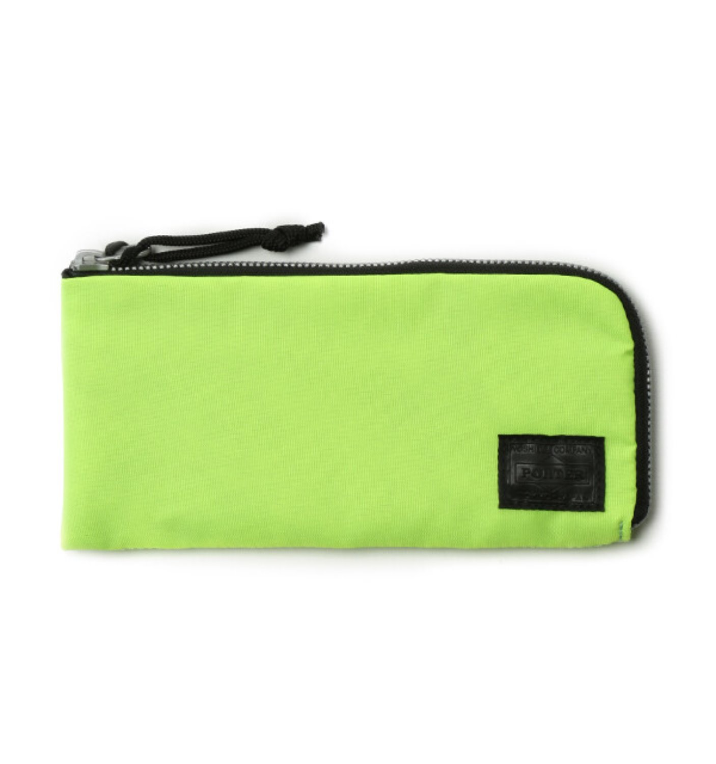 BAL/PORTER® FLGHT NYLON THIN WALLET(L) NEON YELLOW