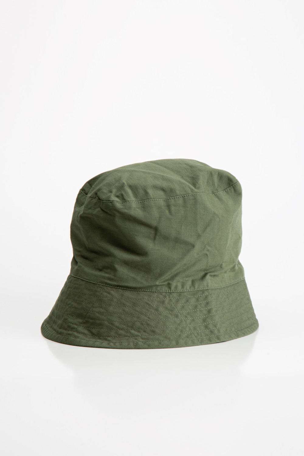 BUCKET HAT OLIVE COTTON RIPSTOP