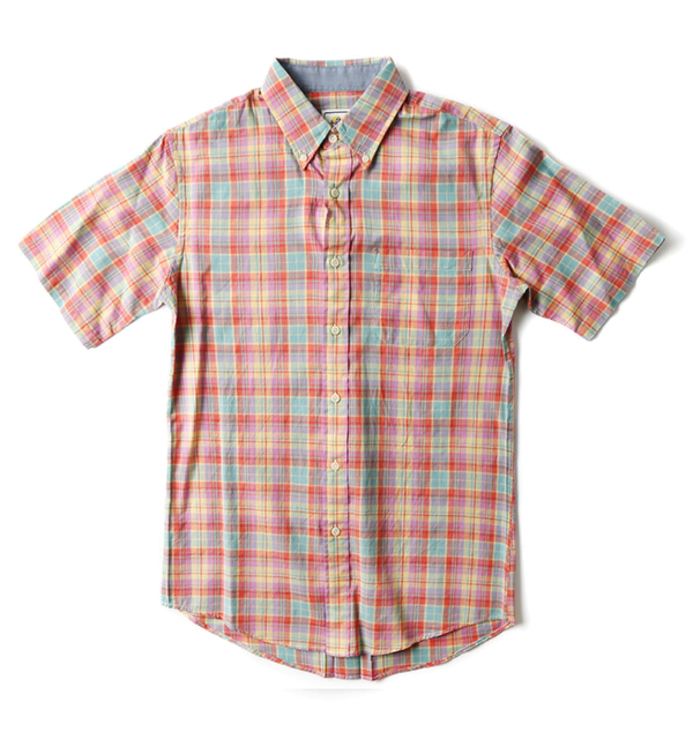 S/S Fitted Seaside BD Shirt Pink
