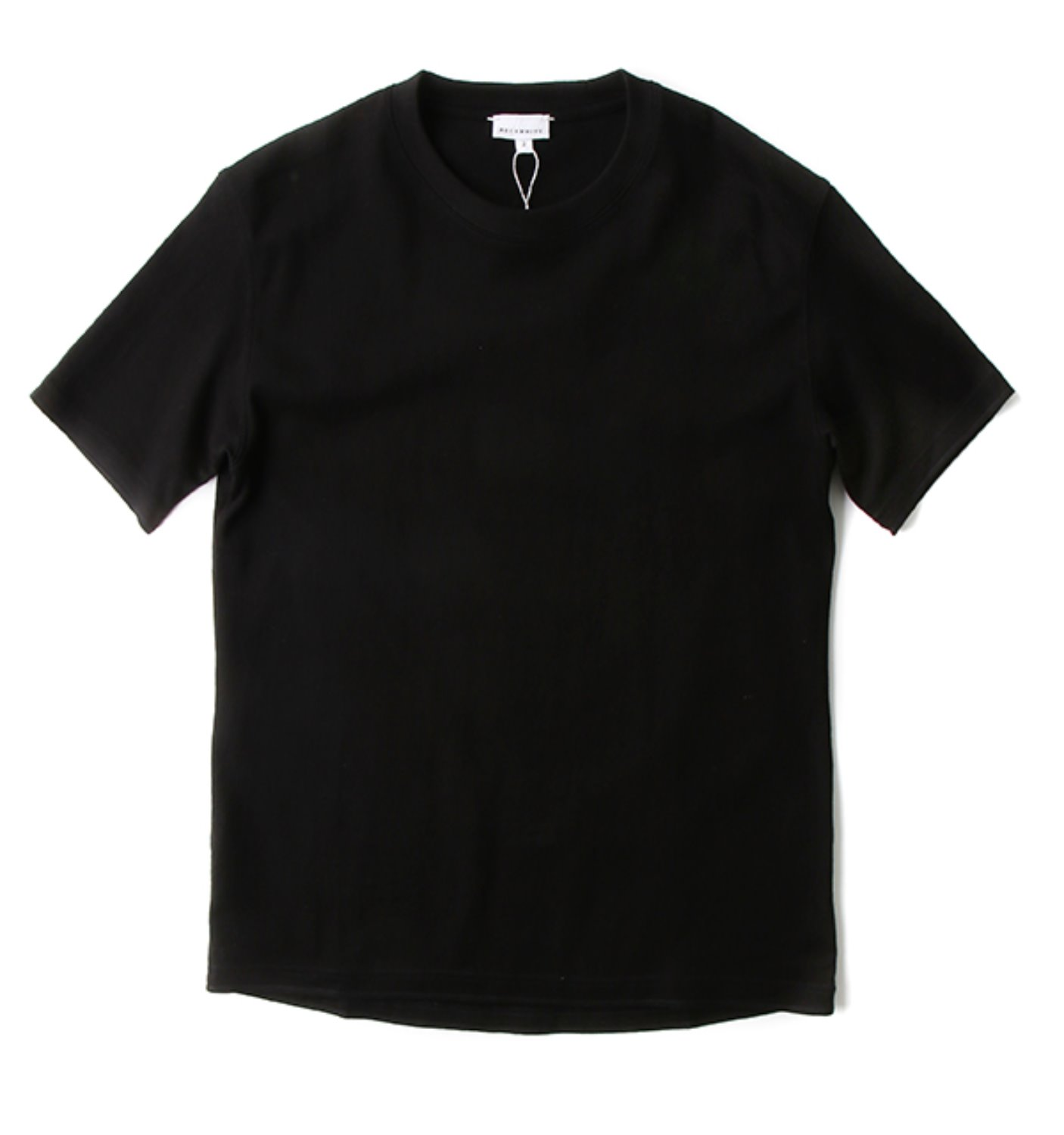 HALF SLEEVE TEE BLACK