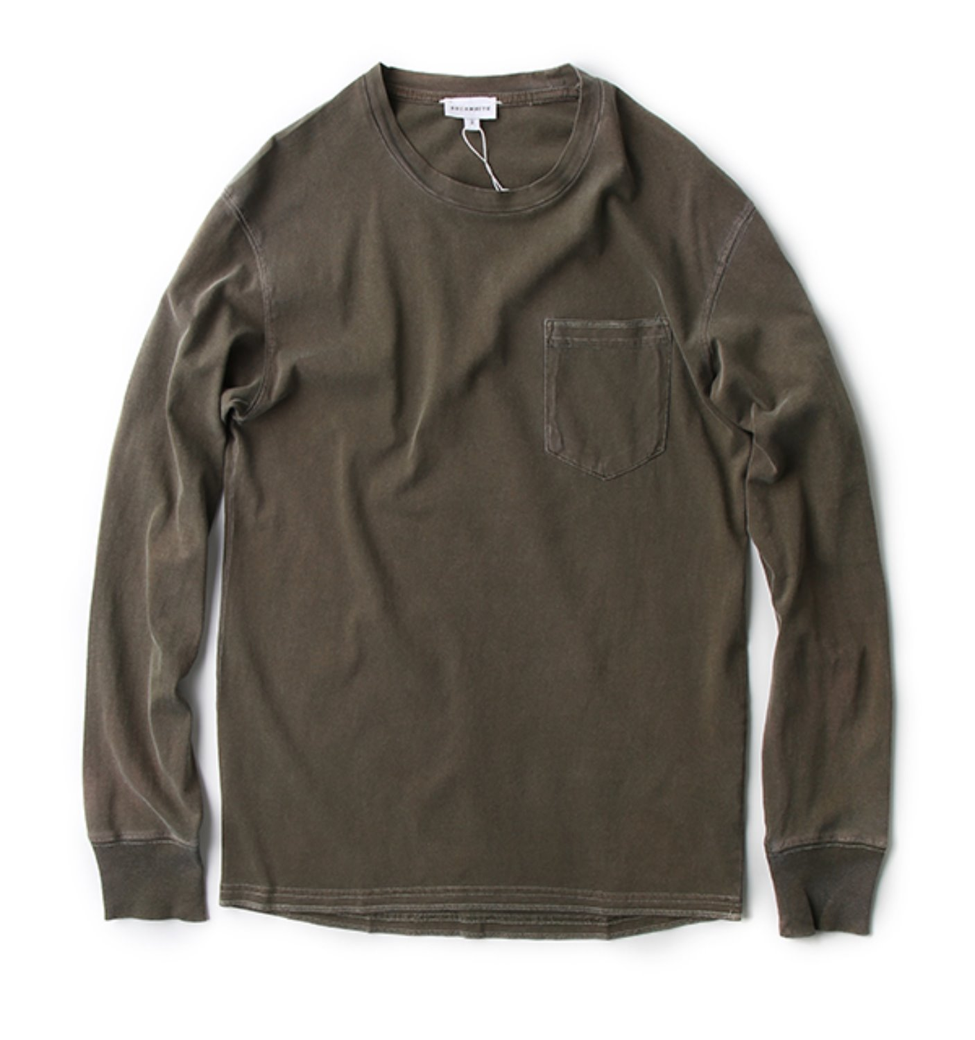 LONG SLEEVE TEE OLIVE(COLLECTION)