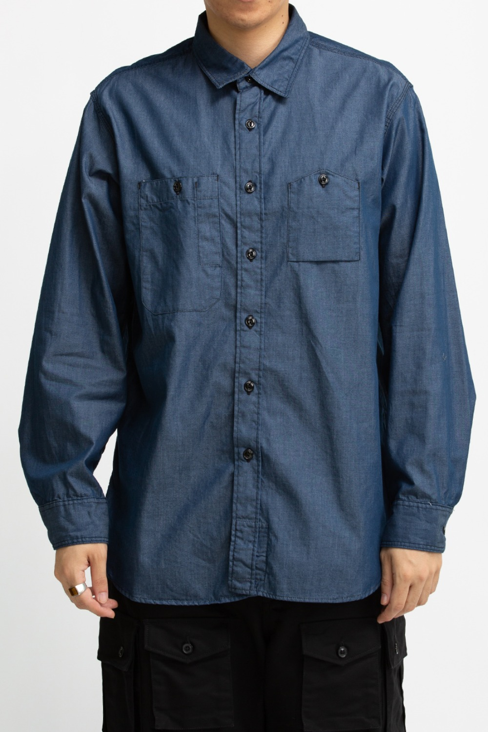 WORK SHIRT DARK BLUE LIGHT WEIGHT DE