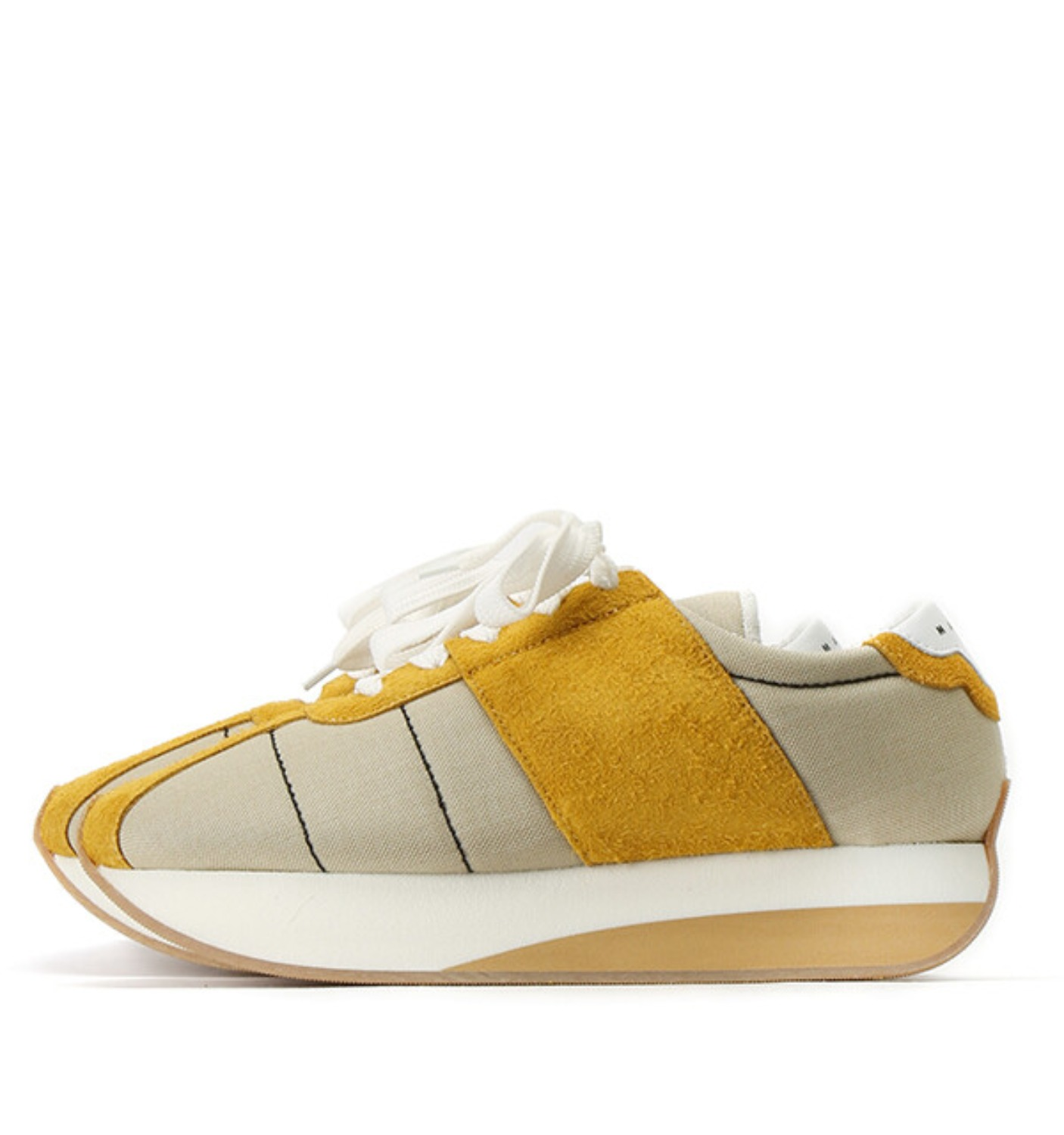 SNEAKERS(SNZU000150) YELLOW/BEIGE