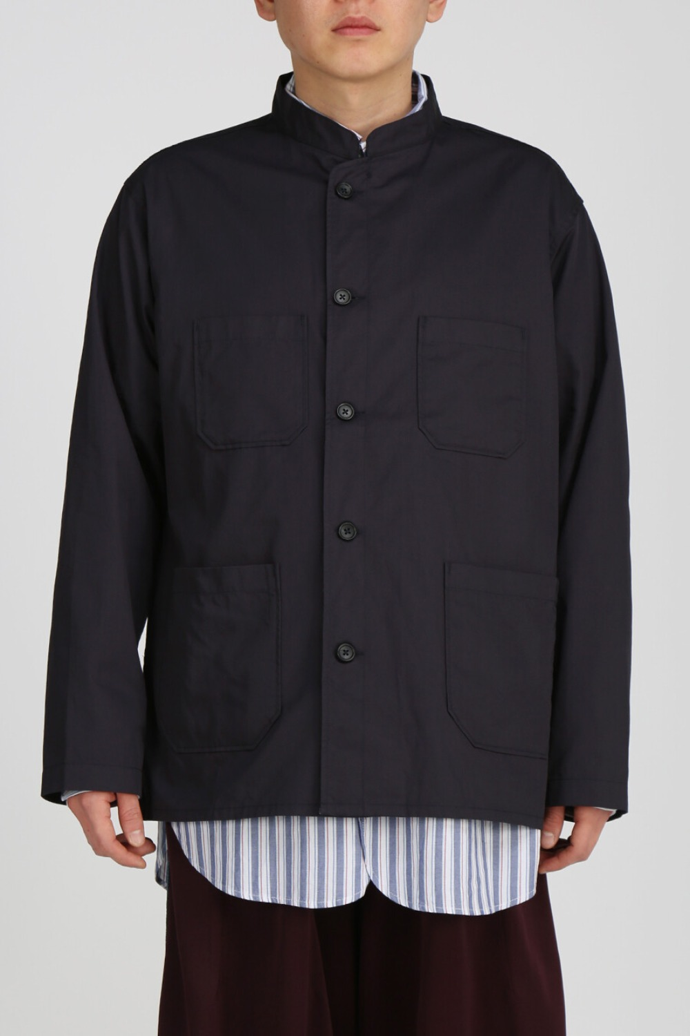 DAYTON SHIRT HIGHCOUNT TWILL DARK NAVY