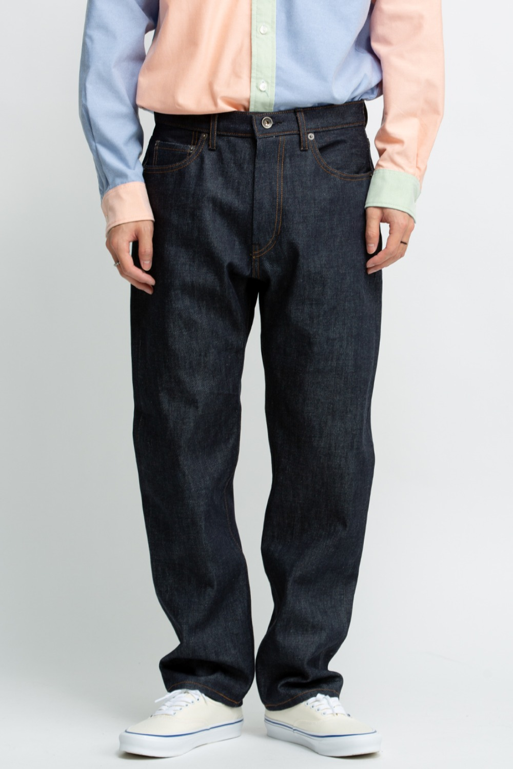 TYPE 5 JEANS INDIGO 13OZ CONE DENIM