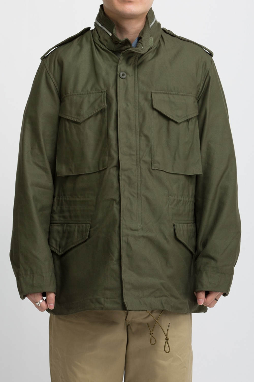 M-65 FIELD JACKET OLIVE GREEN 107