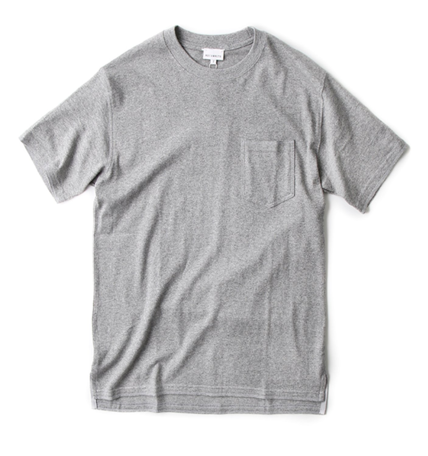 POCKET TEE GREY