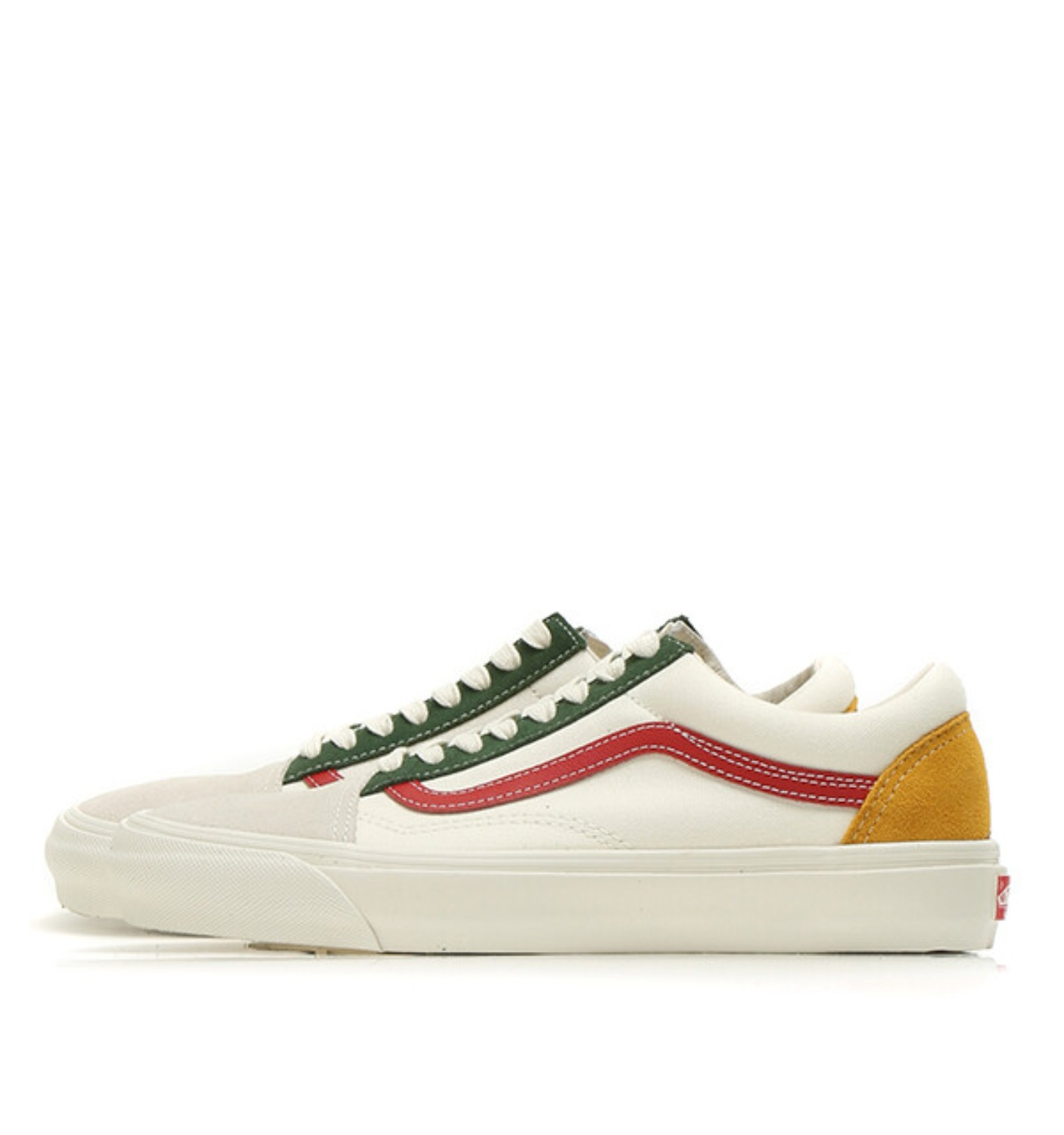 OG OLD SKOOL LX(SUEDE/CANVAS) MARSHMALLOW/MULTI