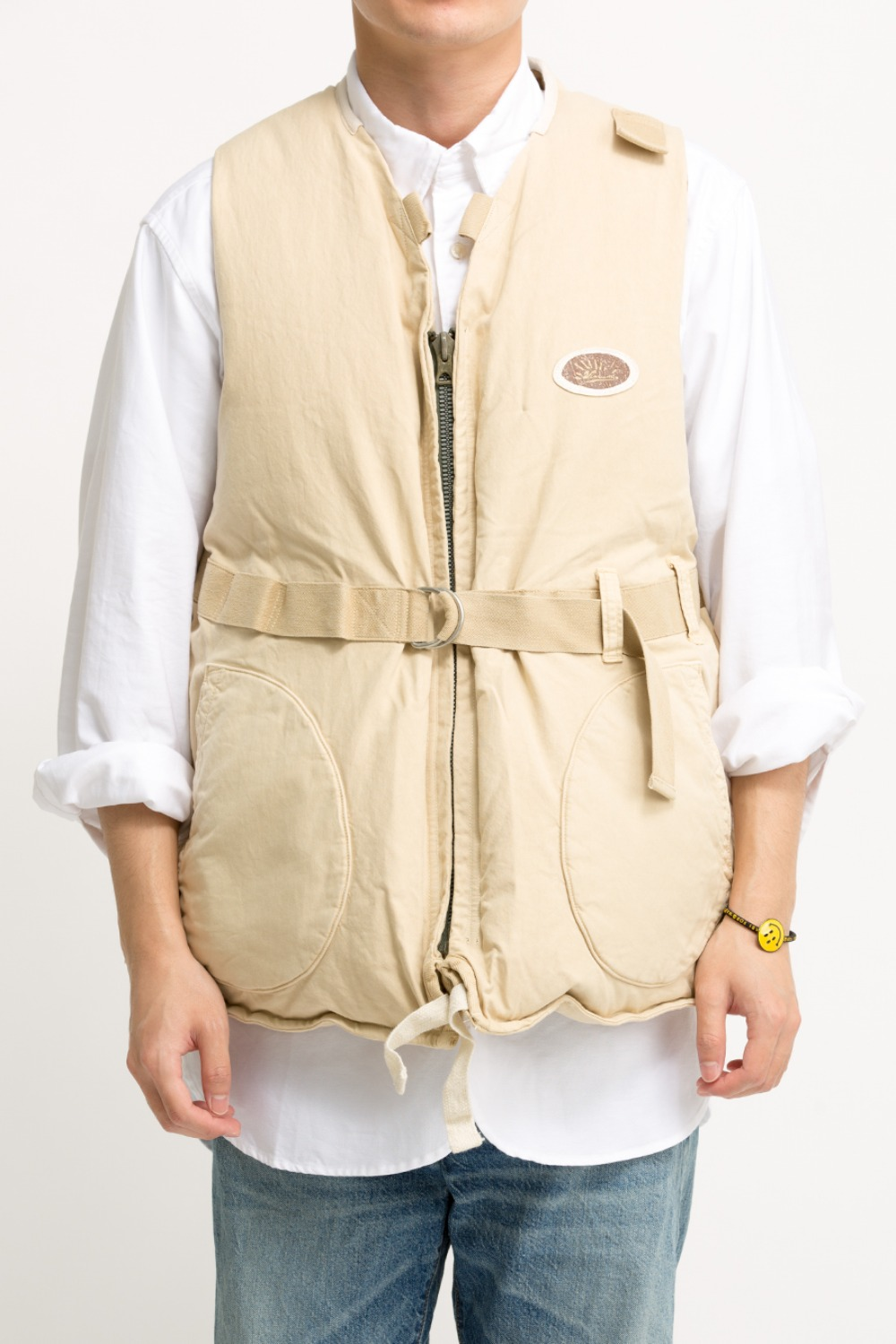HARRIER DOWN VEST IVORY