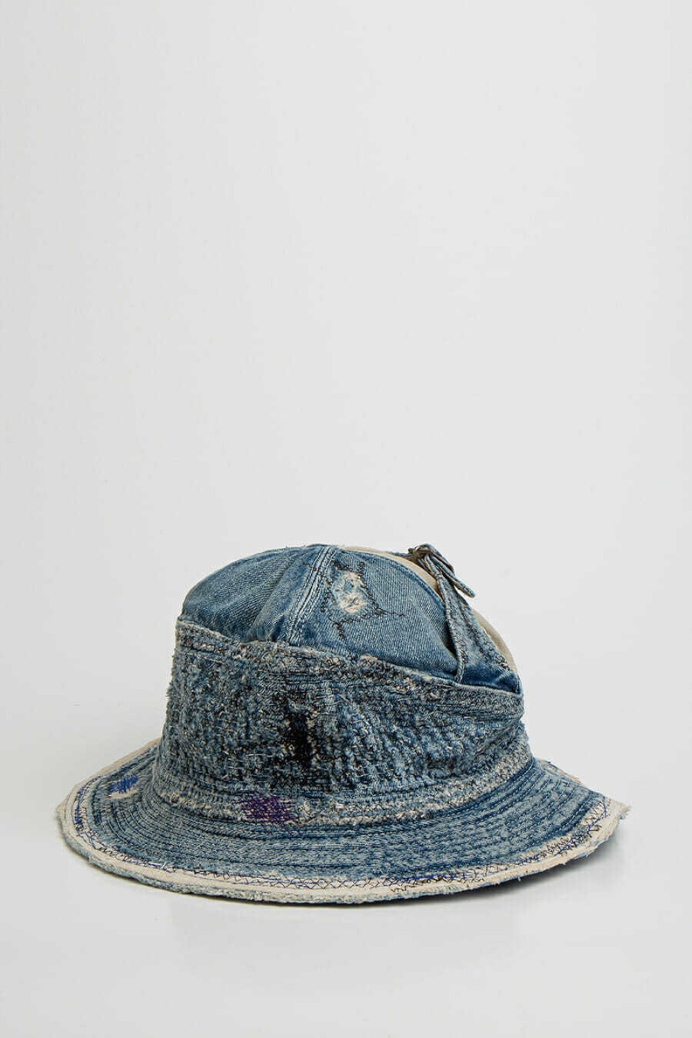 12OZ DENIM THE OLD MAN AND THE SEAT HAT(CRASH REMA INDIGO)