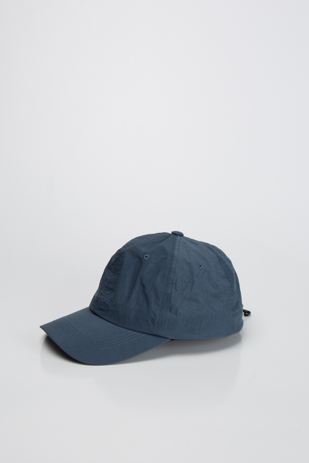LOGO DRAWSTRING BALL CAP BLUE