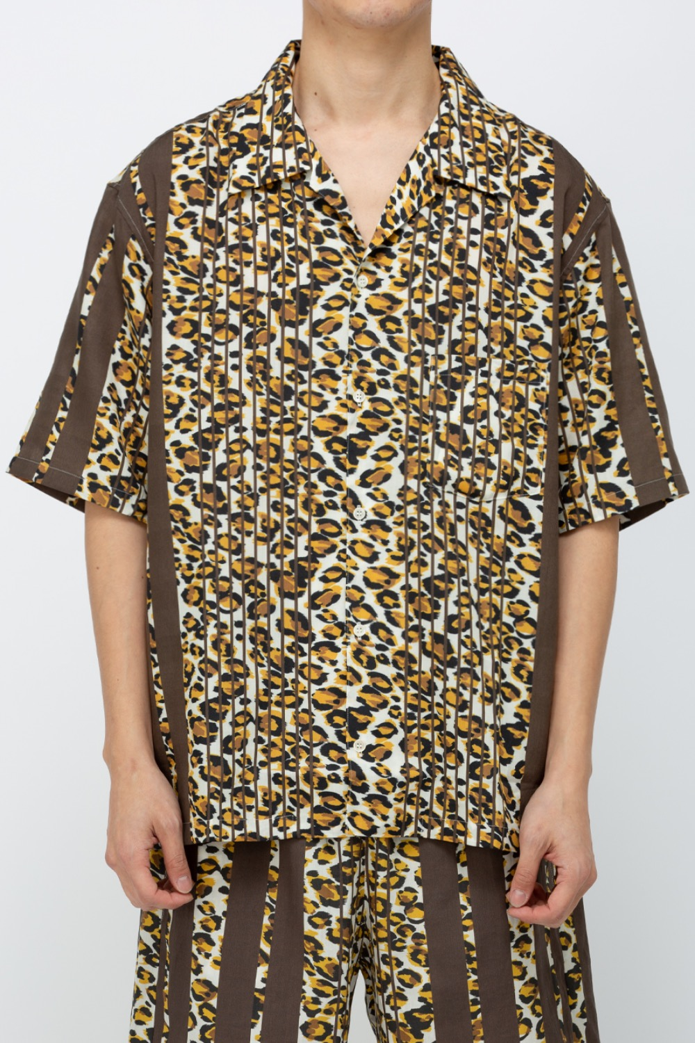 SUMMER SHIRT BTS LEOPARD