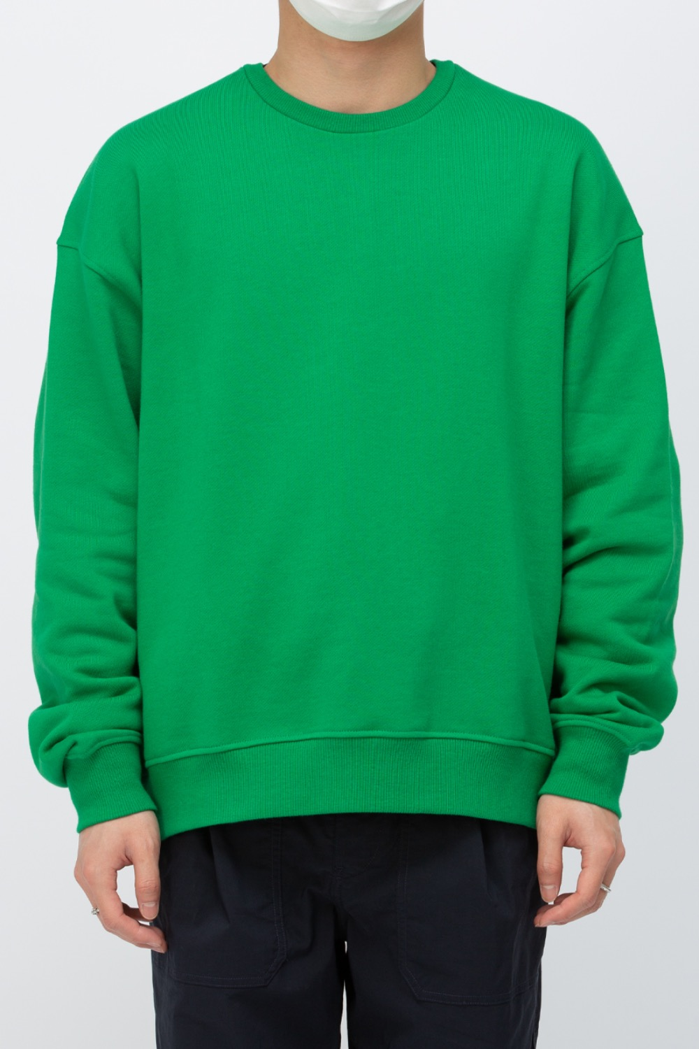 COMFORT SWEAT SHIRT GREEN