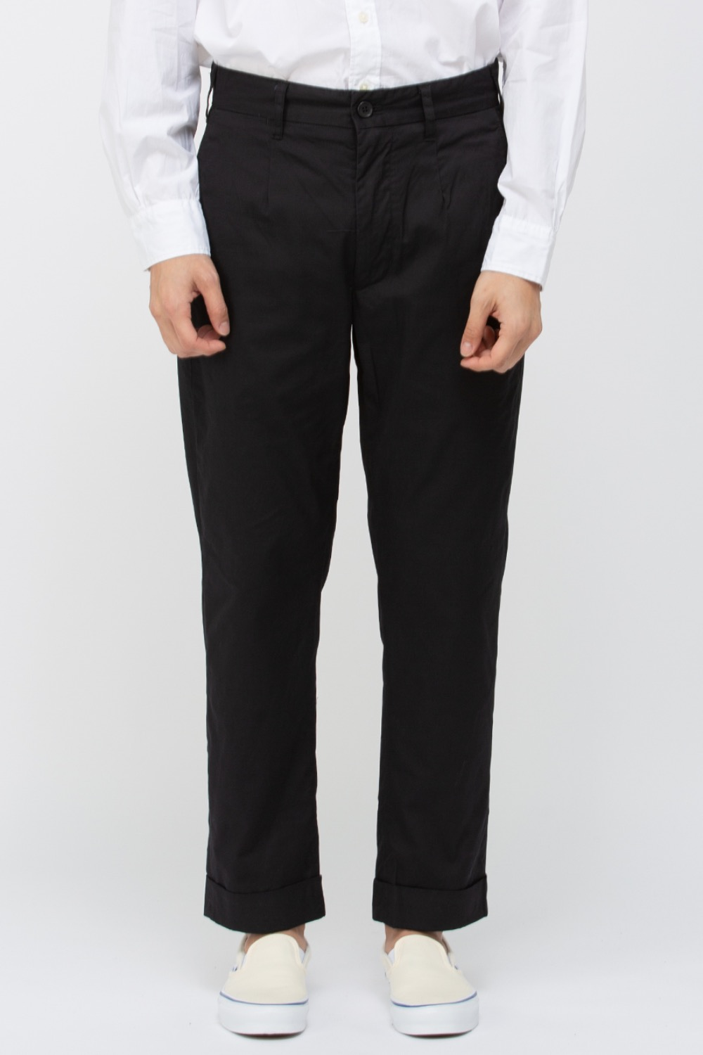 ANDOVER PANT HIGHCOUNT TWILL BLACK
