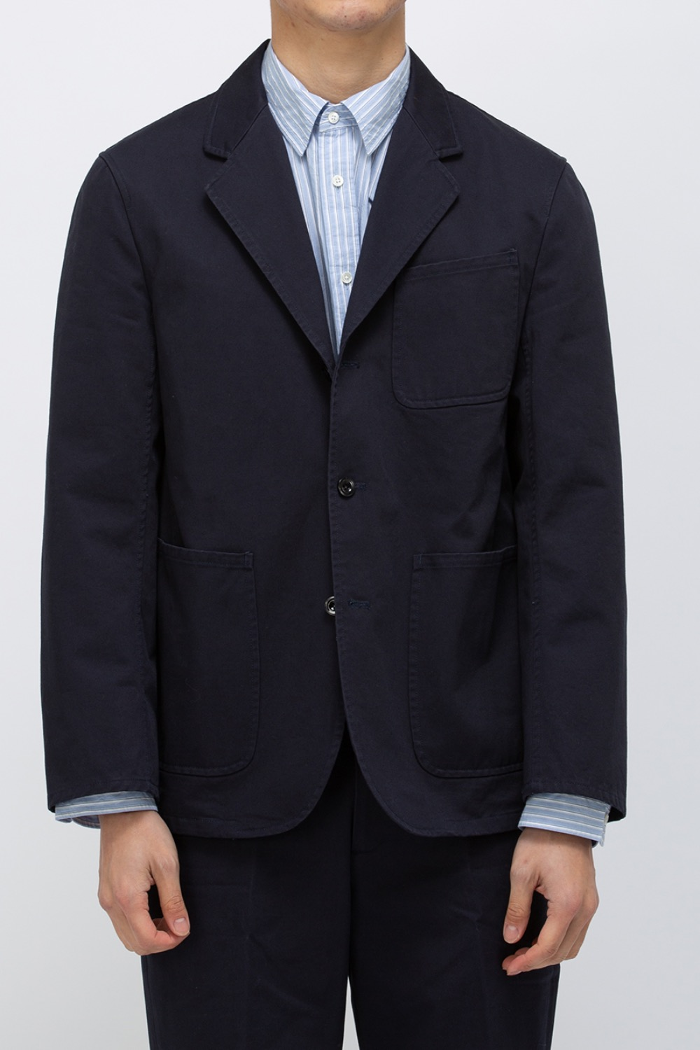 WASHED SPORTS JACKET NAVY