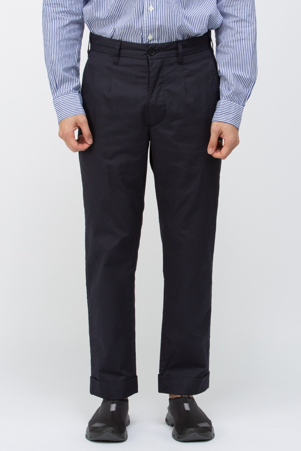 ANDOVER PANT HIGHCOUNT TWILL DARK NAVY