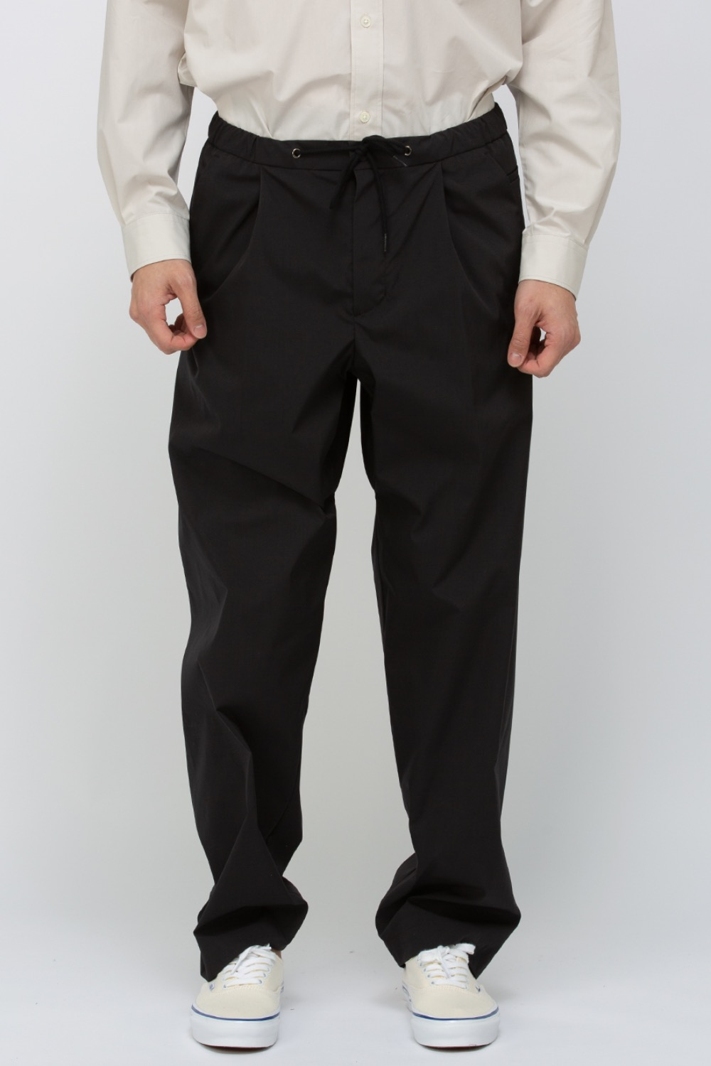 RECYCLED POLY SLUMBER PANTS BLACK