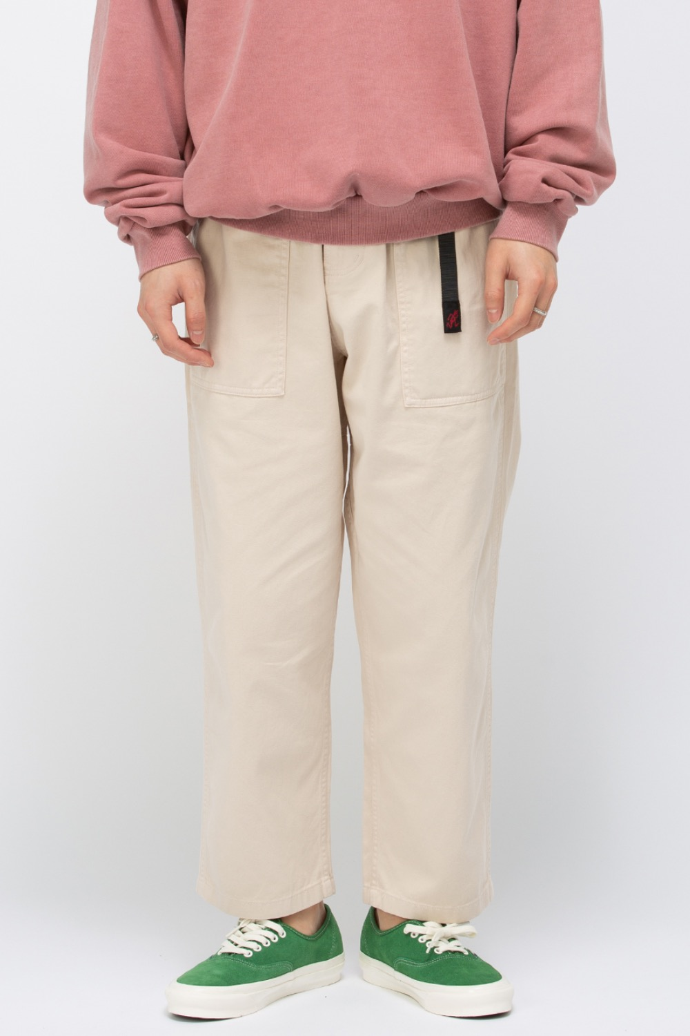 (21SS)LOOSE TAPERED PANTS GRIGE