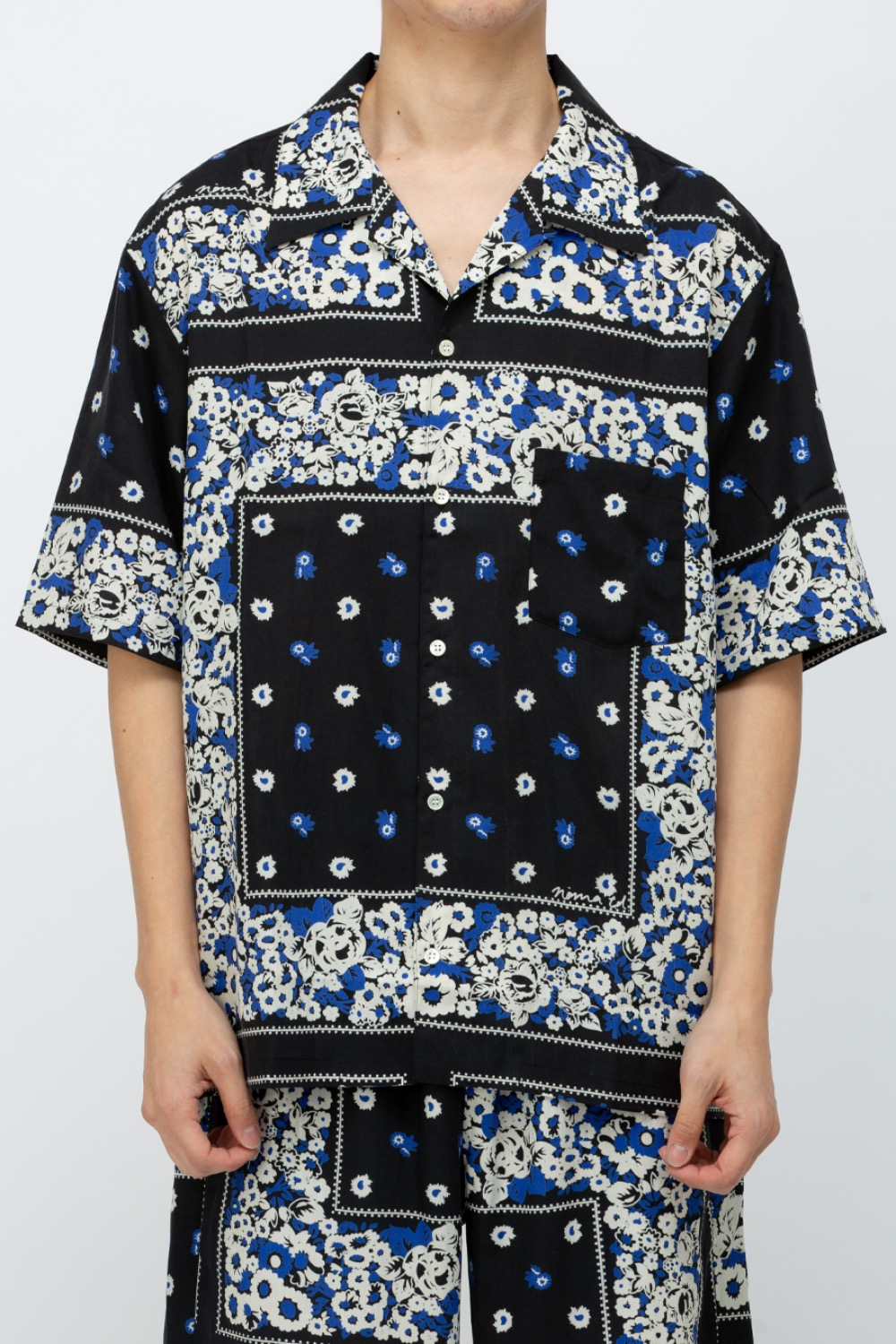 SUMMER SHIRT DYG BLACK