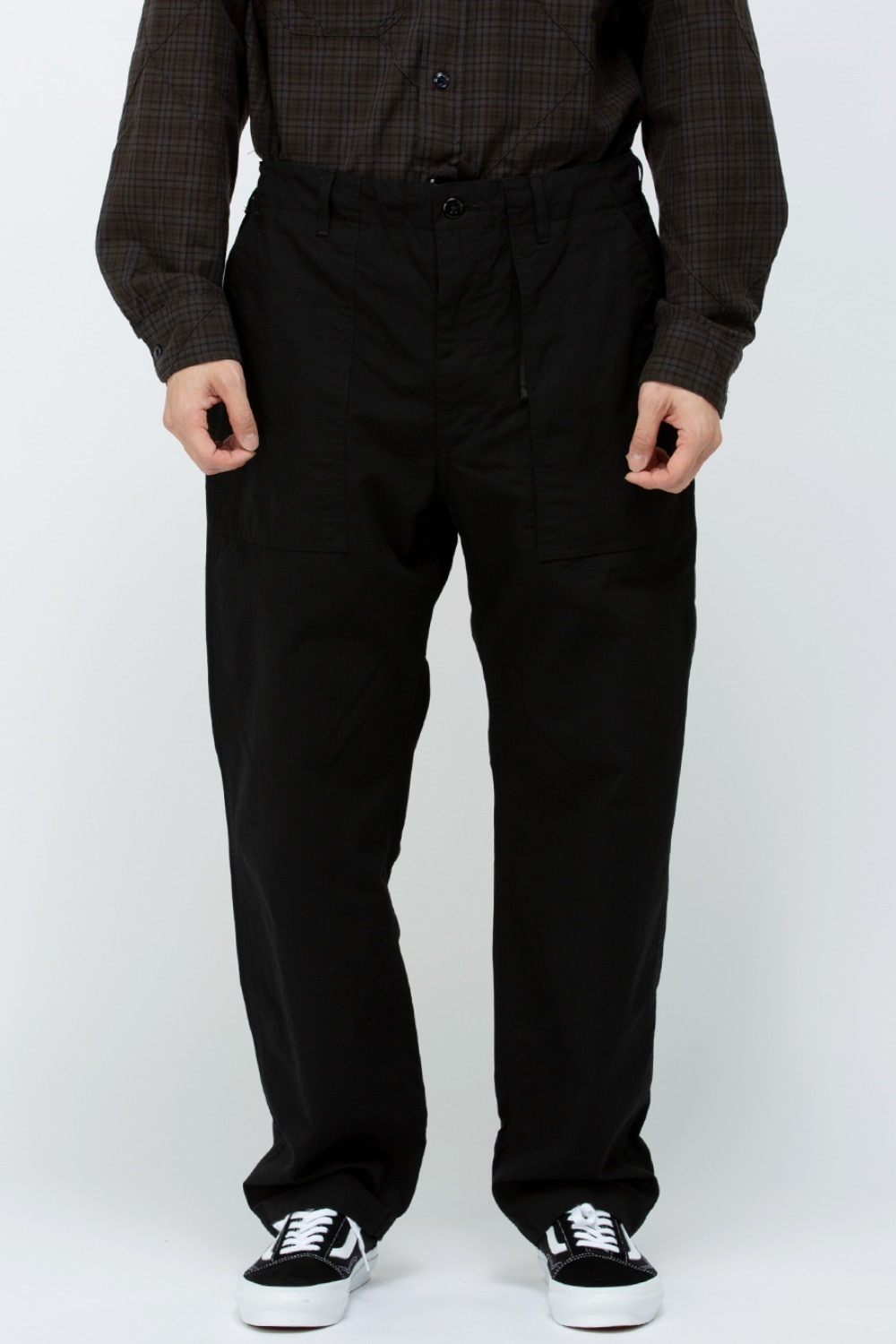FATIGUE PANT COTTON RIPSTOP BLACK