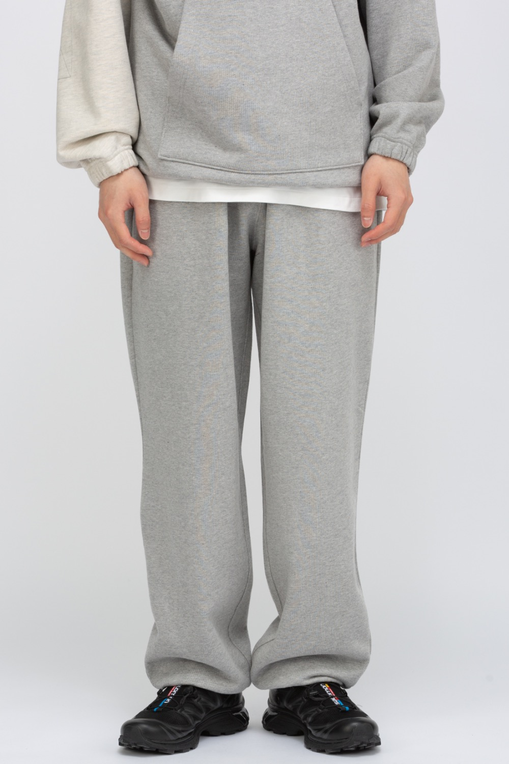 LOGO PLAY SWEAT PANTS GREY
