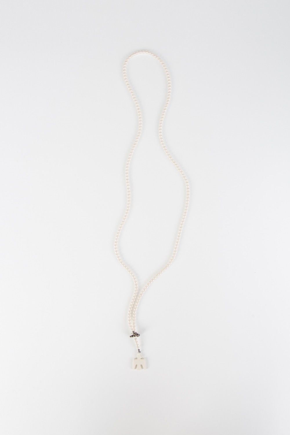 STD BATTERY BIRD PEARL NECKLACE(LONG)