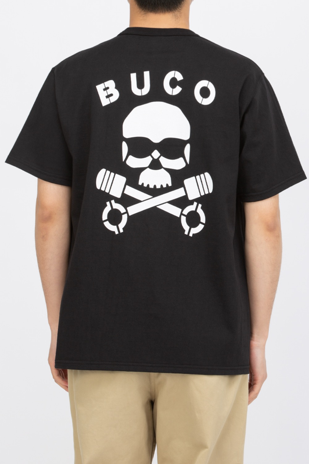 BUCO TEE / SKULL PISTON BLACK