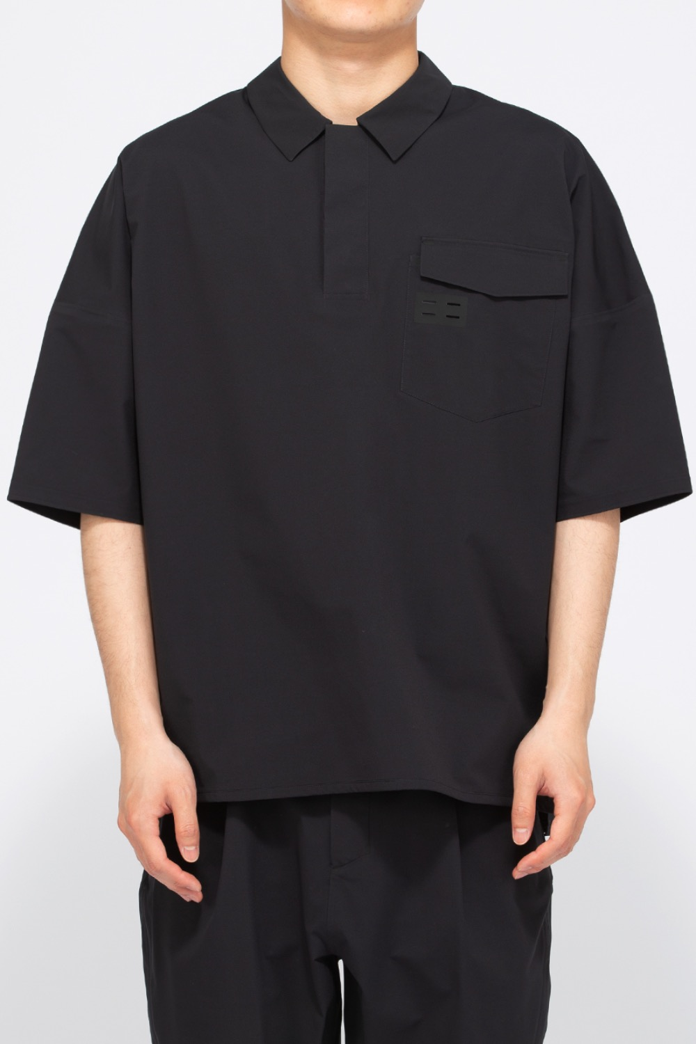 STORM BREAKER POLO BLACK (ZYTCX21014)