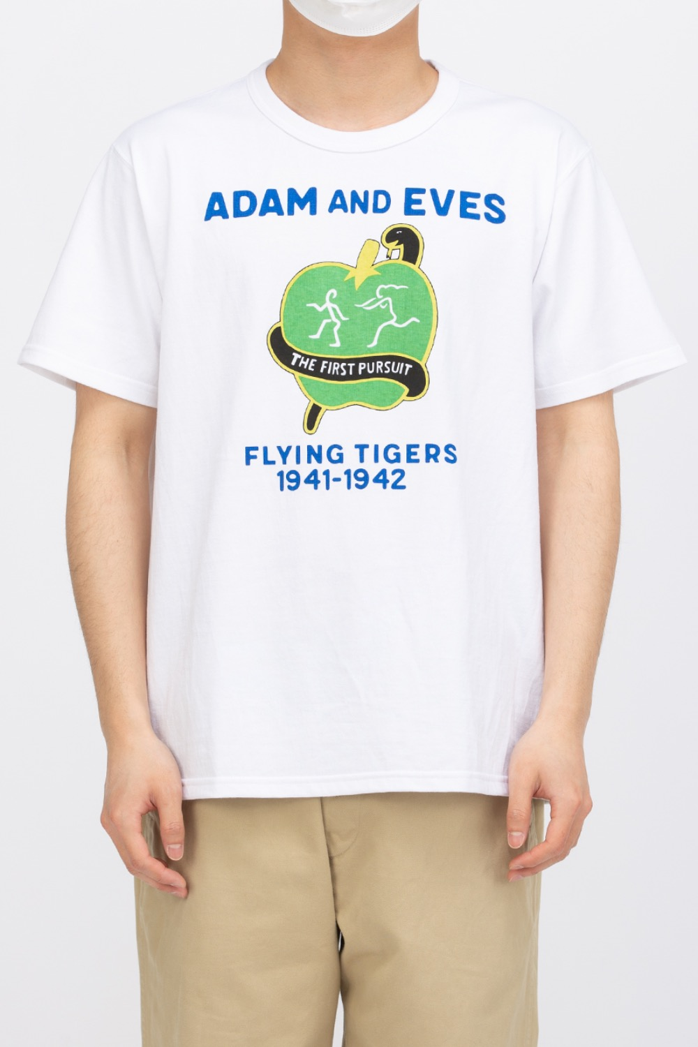 MILITARY TEE / ADAM AND EVES